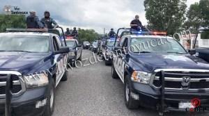 Movilización policíaca en San Felipe por hombre armado | LVDT