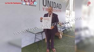 Enrique Santos Líder de CATEM Veracruz se registra para Diputado Federal   LVDT