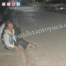 Abandonan a mujer en Tantoyuca   LVDT