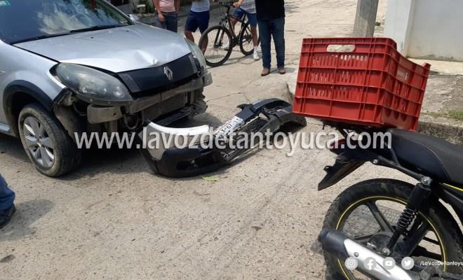 Padre e hijo resultan lesionados tras accidente, en Tantoyuca | LVDT