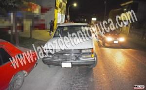 Aseguran unidad mal estacionada sobre la municipalizada | LVDT