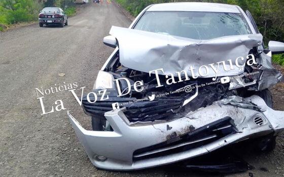 Huejutlense provoca aparatoso accidente | LVDT