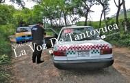 Otro taxi de Huejutla al corralón por circular en Veracruz