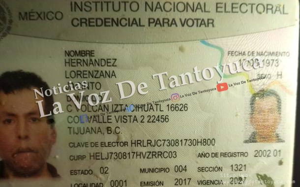 Buscan a familiares de Tantoyuquense que se encuentra grave en Tijuana