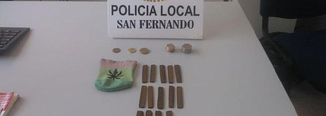 La Policía Local asesta un nuevo golpe a la venta de estupefacientes