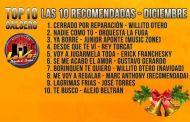 TOP 10 DE LA SALSA ROMÁNTICA NUEVA – DICIEMBRE (LAS 10 RECOMENDADAS)