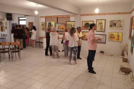 Πραγματοποιήθηκε η Έκθεση Ζωγραφικής από τον Σύλλογο Περιγιάλι Λαυρεωτικής