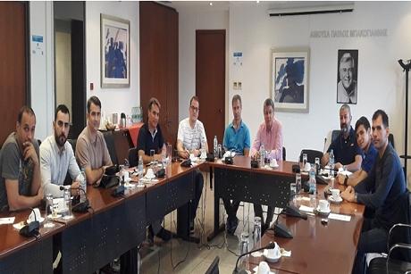 Συνάντηση φορέων για τη διεξαγωγή του Βαλκανικού Πρωταθλήματος Futsal Αστυνομικών στο Λαύριο