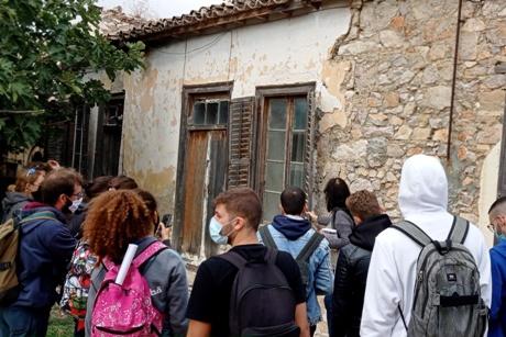 Η Αρχιτεκτονική κληρονομιά της Κερατέας αντικείμενο μελέτης για τους φοιτητές της Αρχιτεκτονικής του Εθνικού Μετσόβιου Πολυτεχνείου