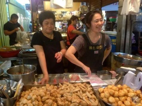 Puesto en el mercado de Shuǐxian-gong