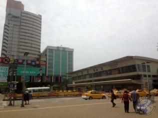 La estación de ferrocarril de Kaohsiung