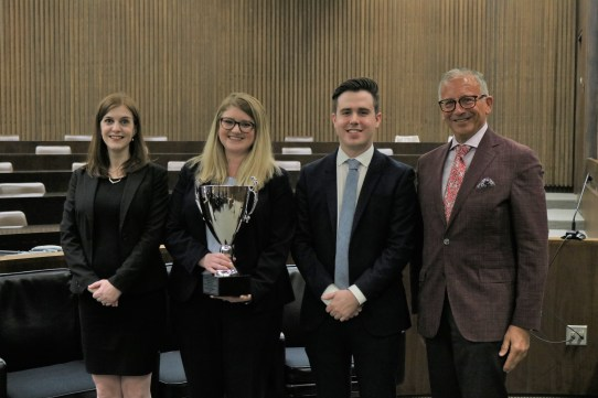National Moot Court Competition winners