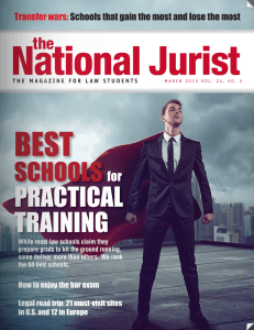 National Jurist Cover March 2015