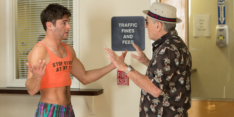 Zac Efron and Robert DeNiro in Dirty Grandpa