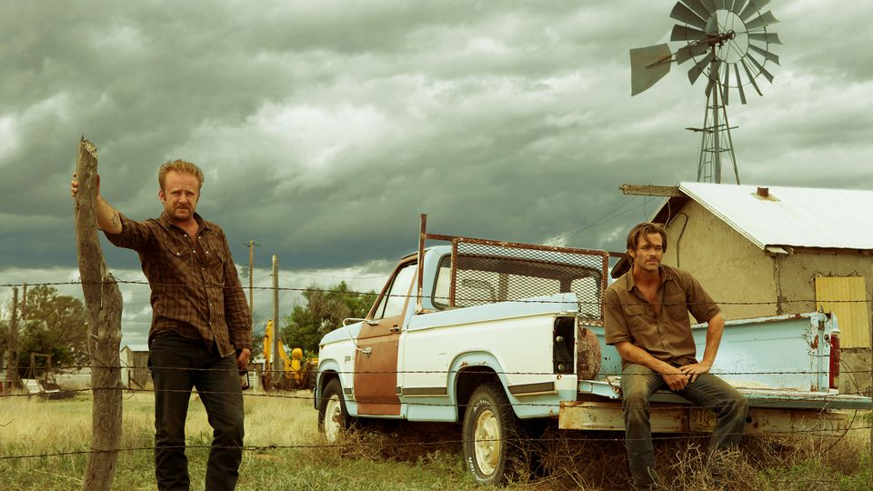 Chris Pine and Ben Foster in David Mackenzie's Hell Or High Water
