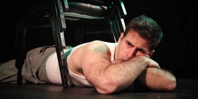 David Sackal as Brick in Epic Theatre Company's Cat On A Hot Tin Roof