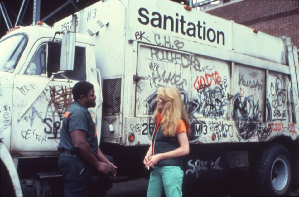 Mierle Laderman Ukeles, Touch Sanitation (1980)