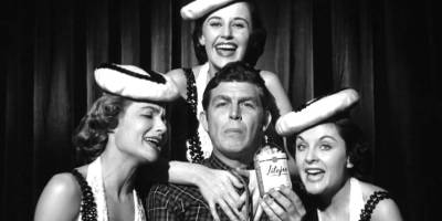 Andy Griffith in Elia Kazan's A Face in the Crowd (1957)