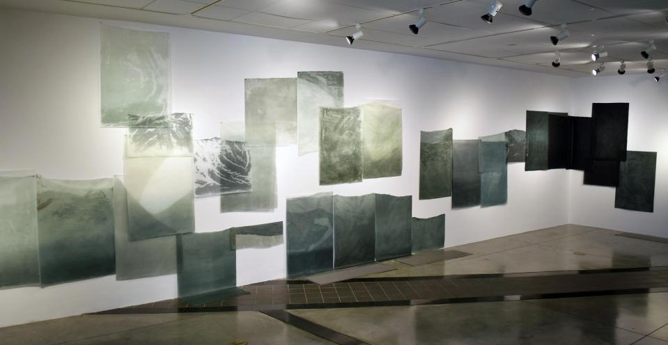 Kelsey Miller's Level at the Hunter Gallery at St. George's Academy