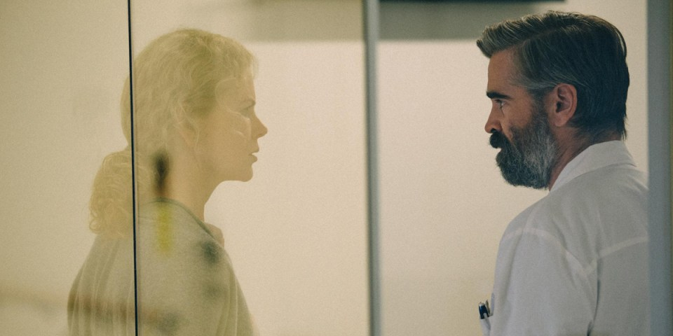 Nicole Kidman in Colin Farrell in The Killing of a Sacred Deer