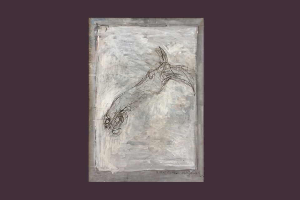 "Tina Cane, Body of Work (Alberto Giacometti, ""Tête de cheval"")"
