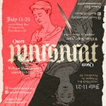 Jennifer Dick's Queen Margaret at Head Trick Theatre in Providence, RI