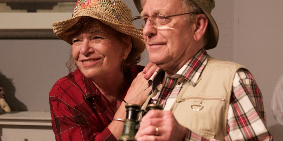 David and Beth Jepson in On Golden Pond at Granite Theatre in Westerly RI