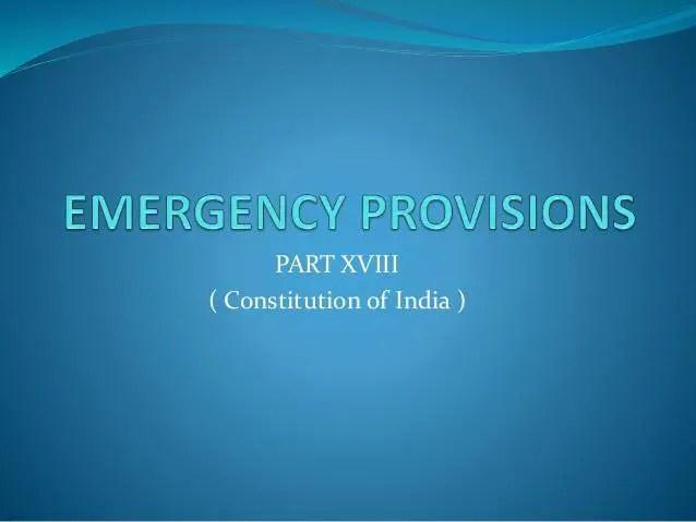 emergency provisions 1 638 EMERGENCY PROVISIONS AND PANDEMIC CRISIS