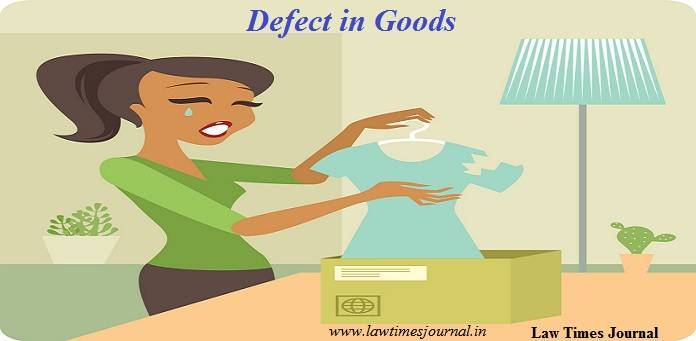 Analysis of defects in goods and services
