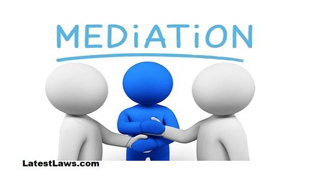 Mediation MEDIATION AS A NEED OF THE HOUR