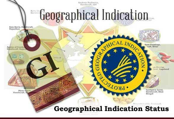 geographical Indication Status Geographical Indications of Goods Act,1999