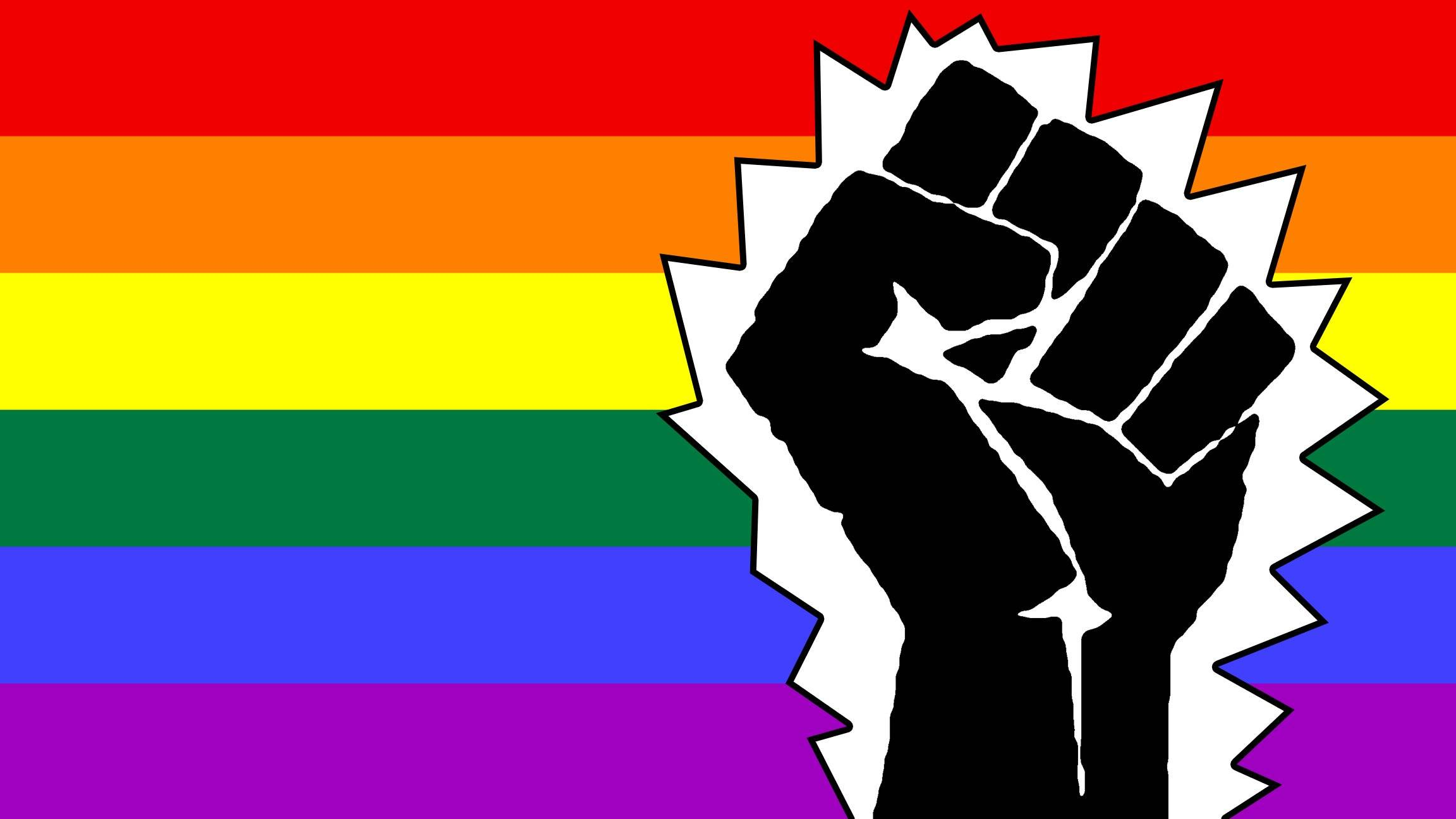 lgbt black power No Longer hide my rainbow