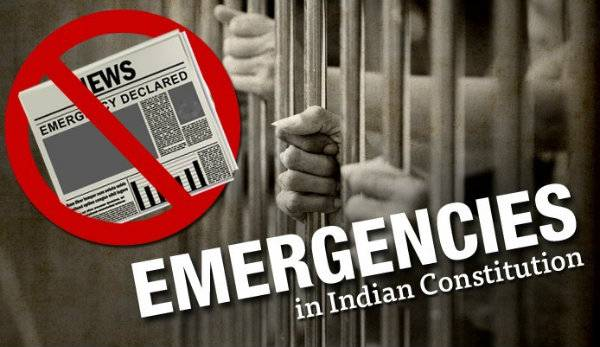 Types of Emergencies Under Indian constitution