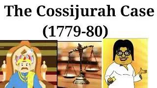cossijurah case 1779 - 80