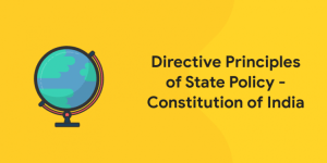 Directive principles of state policy - Constitution of India