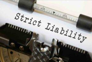 strict liability Strict /Absolute liability