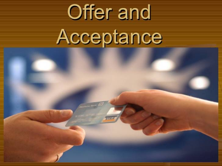 Communication of Offer and Acceptance
