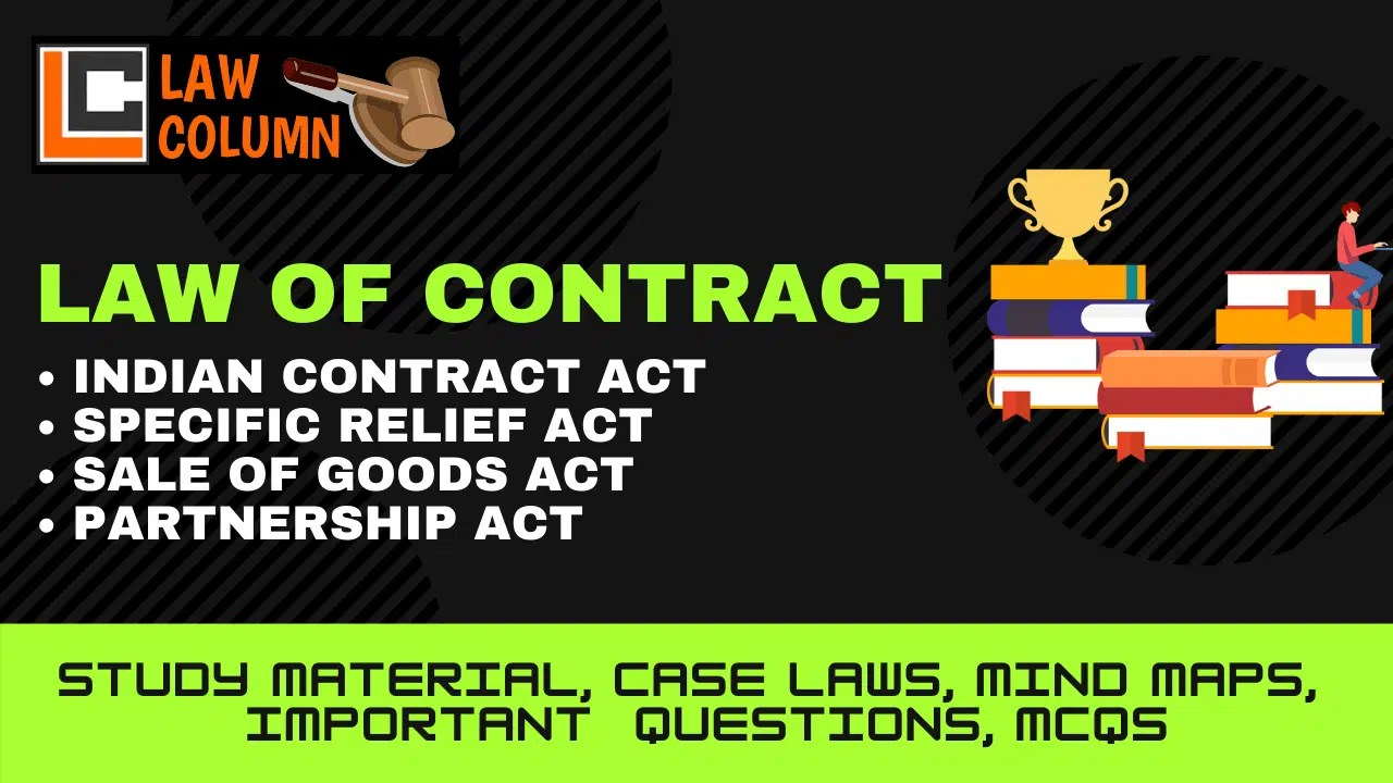 Contract of Sale of Goods: Formation and Important Clauses