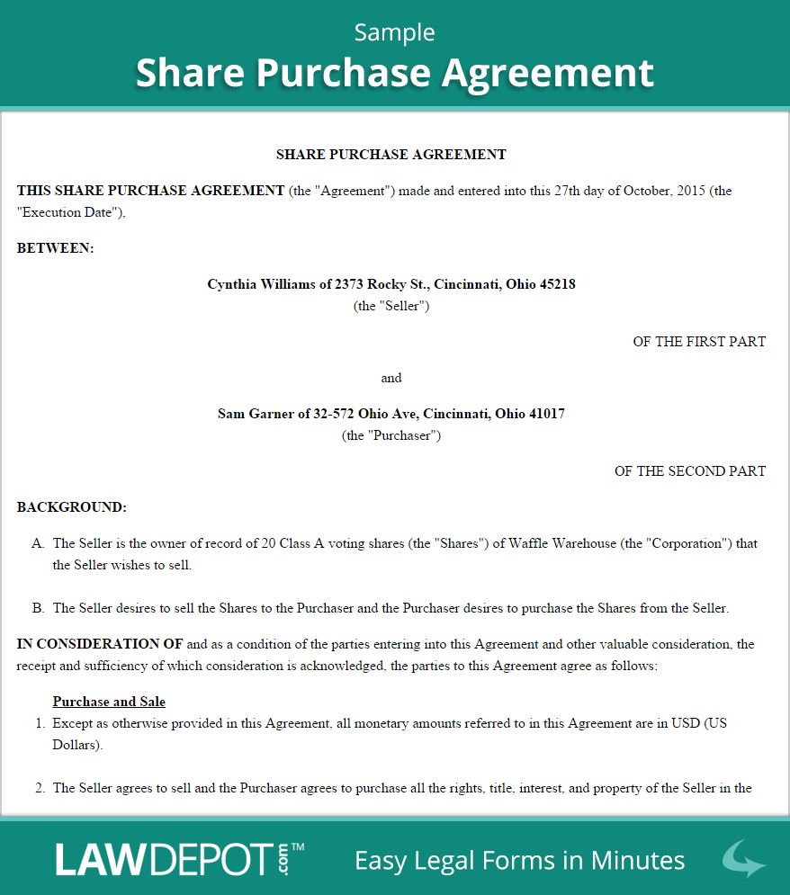 format format of free sample bid letter form for real property – Home Purchase Agreement Template Free