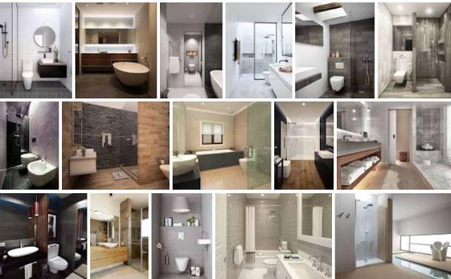 Baños minimalistas 1