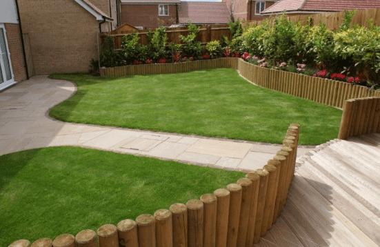 Césped artificial para jardines 1