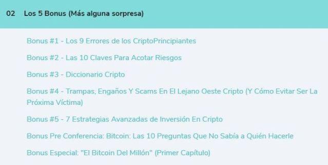 Curso de inversiones en criptomonedas