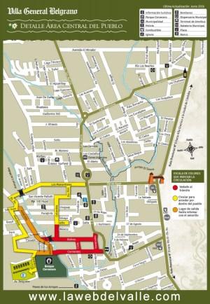 mapa de la ubicación del Bosque Cervecero