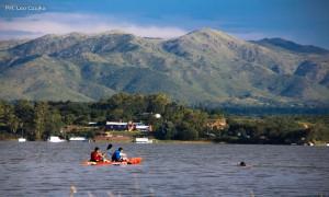 Kayak en Lago Los Molinos