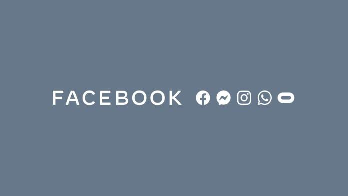 Logo Social Facebook - Messenger - Instagram - WhatsApp - Oculus
