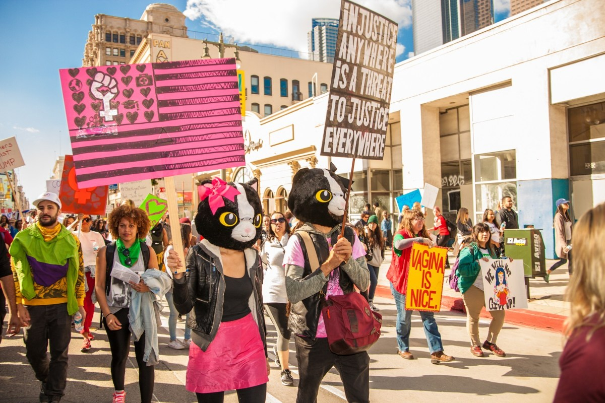 Scenes from 2018's Women's March L.A.; Credit: Star Foreman