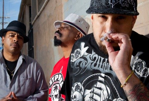 Freedom to smoke: Cypress Hill; Credit: PHOTO BY JENNIE WARREN