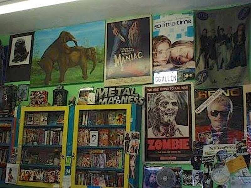 Inside the little shop of beautiful horrors; Credit: Courtesy Mondo Video