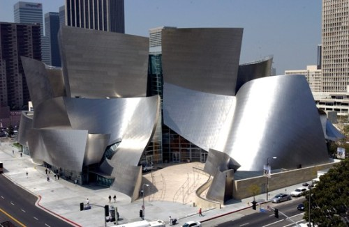 Frank Gehry's Walt Disney Concert Hall; Credit: COURTESY OF MUSIC CENTER OF LOS ANGELES COUNTY