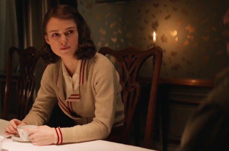 Keira Knightley in The Aftermath; Credit: Fox Searchlight